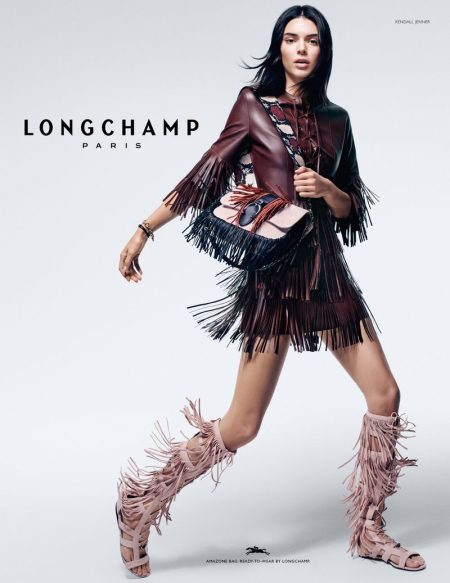Longchamp enlists Kendall Jenner for its spring-summer 2019 campaign