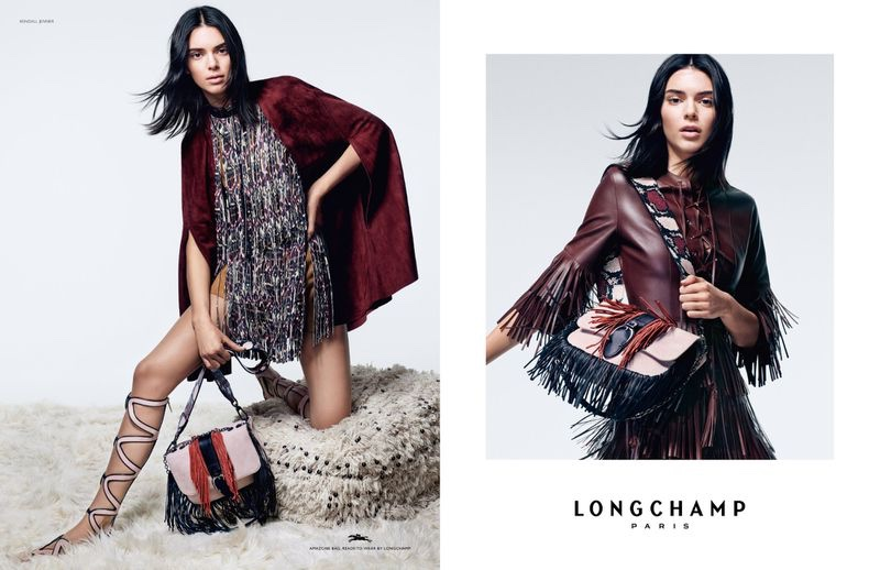 An image from the Longchamp spring 2019 advertising campaign