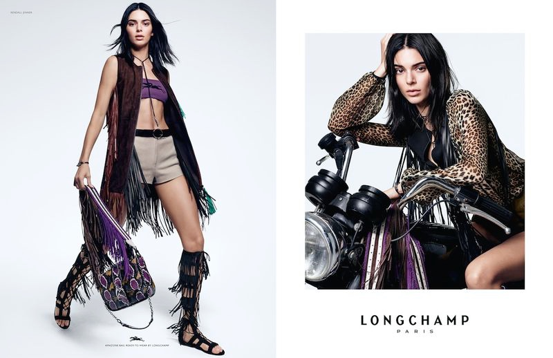 Model Kendall Jenner fronts Longchamp spring-summer 2019 campaign