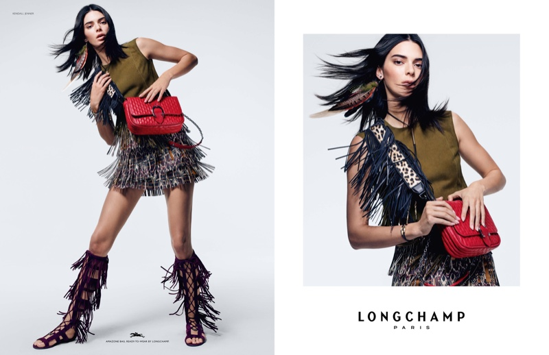 Kendall Jenner appears in Longchamp spring-summer 2019 campaign