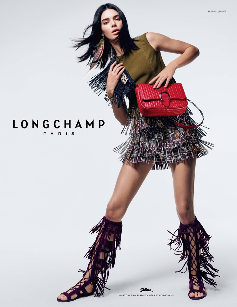 Longchamp unveils spring-summer 2019 campaign with Kendall Jenner