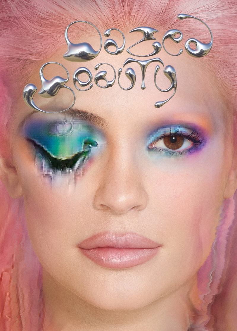 Kylie Jenner on DAZED Beauty Issue #0 Cover