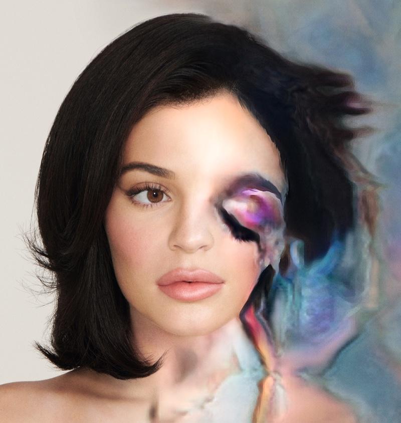 Kylie Jenner wears digital beauty looks created by AI program Beauty_GAN