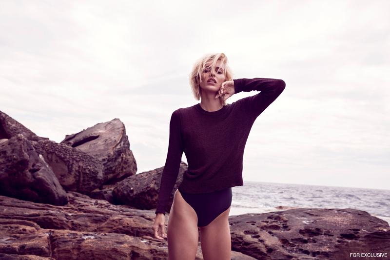 Sweater Miss Shop and Swimsuit Baaby. Photo: Milos Mlynarik