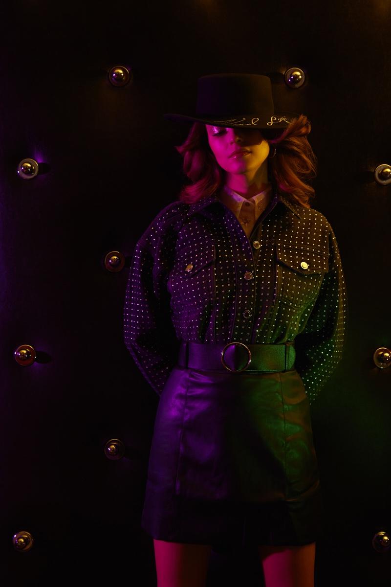 Maja Chudy Models Disco Style for French Fries Magazine