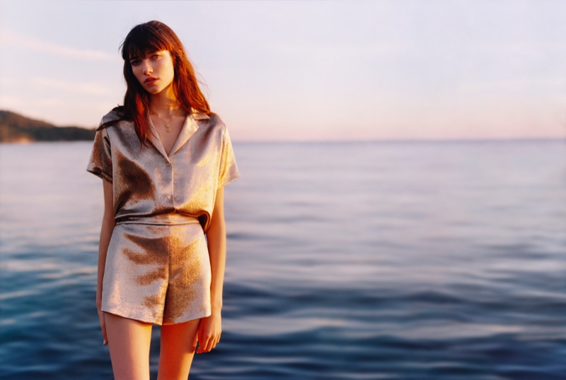 An image from the Maje spring 2019 advertising campaign