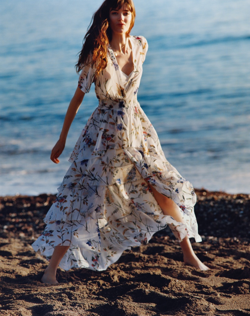 Oliver Hadlee Pearch photographs Maje spring-summer 2019 campaign