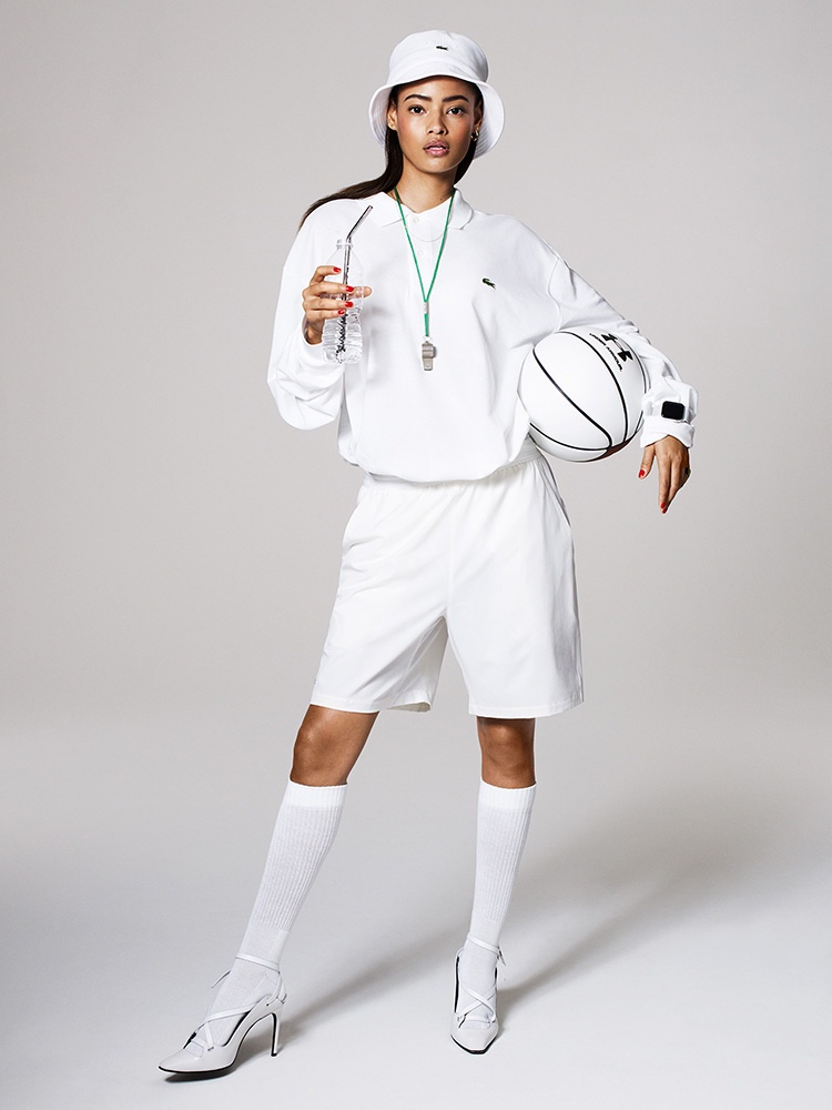 Malaika Firth Models Sporty Looks for Women's Health