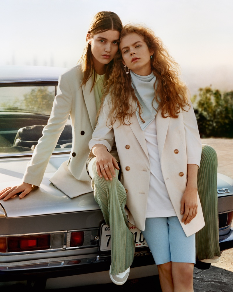 Mango features pastels in spring-summer 2019 campaign