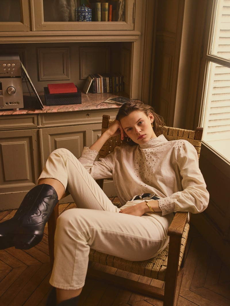 Mango spotlights its spring-summer 2019 collection Urban Bohemia trend guide