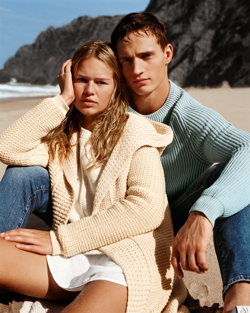 Anna Ewers joins Julain Schneyder for Marc O'Polo spring-summer 2019 campaign