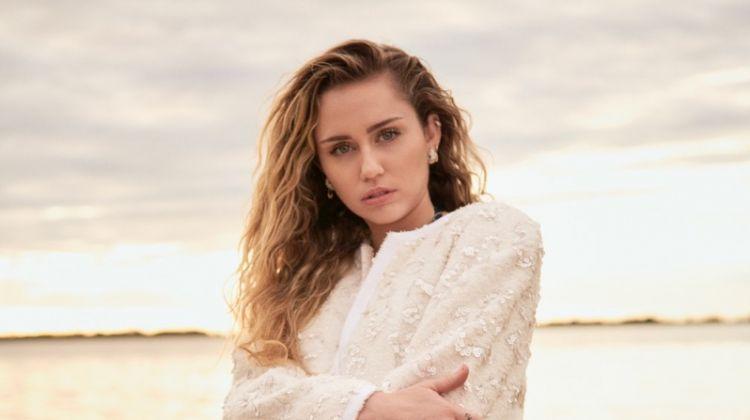 Miley Cyrus Wears Effortlessly Cool Styles for Vanity Fair