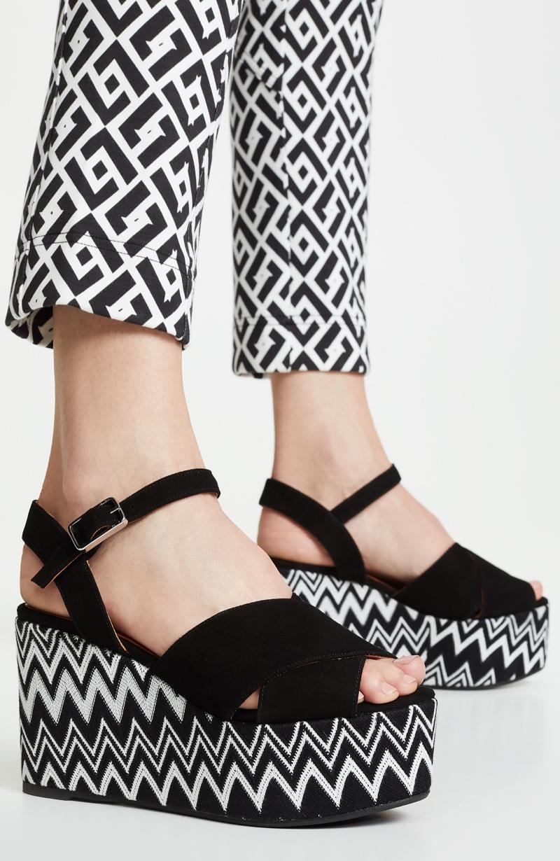 Missoni x Castaner Engie Wedge Sandals $330
