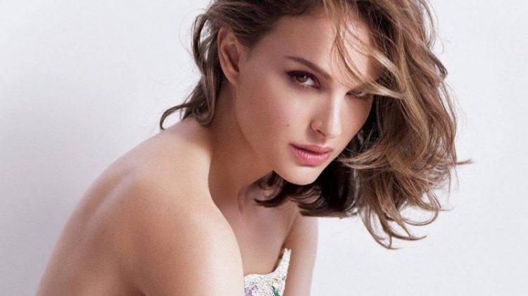 Natalie Portman for Miss Dior Eau de Parfum campaign