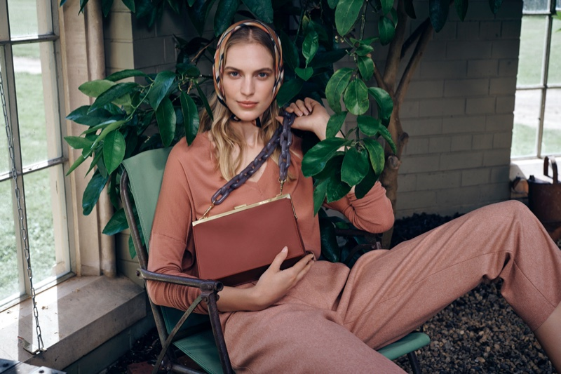Vanessa Axente Has a Green Thumb in Oroton Fall '19 Campaign
