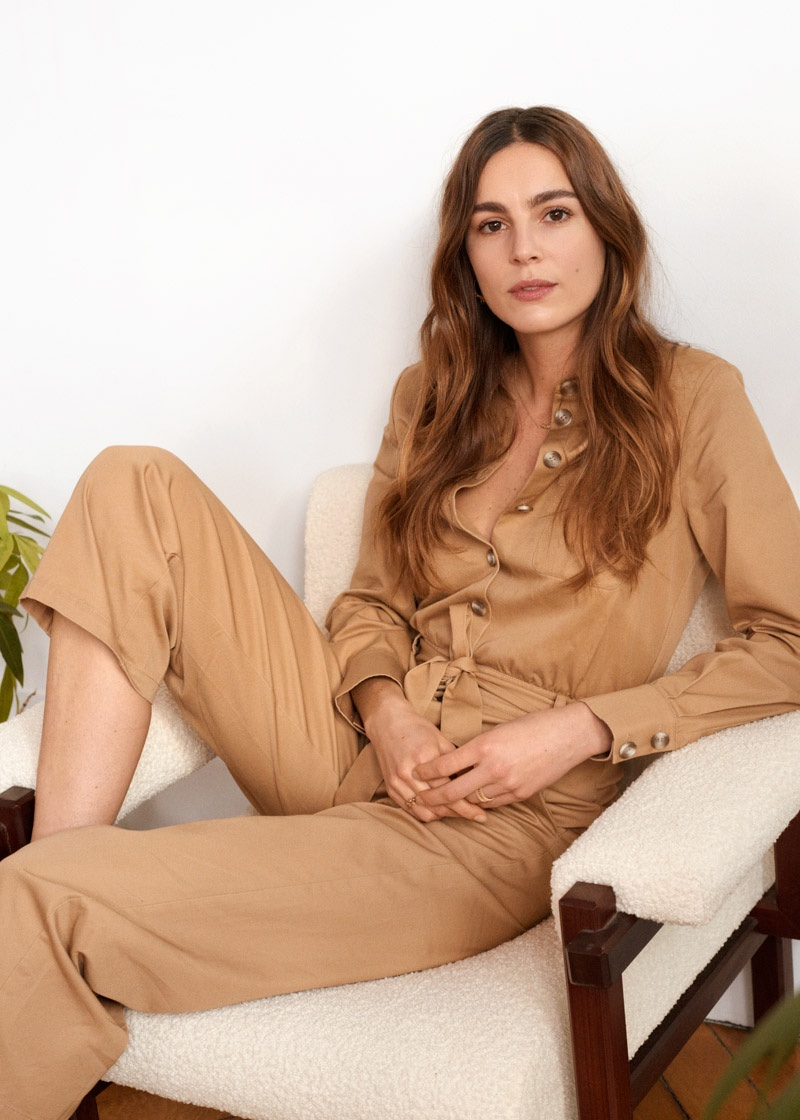 & Other Stories Belted Cotton Boilersuit $99