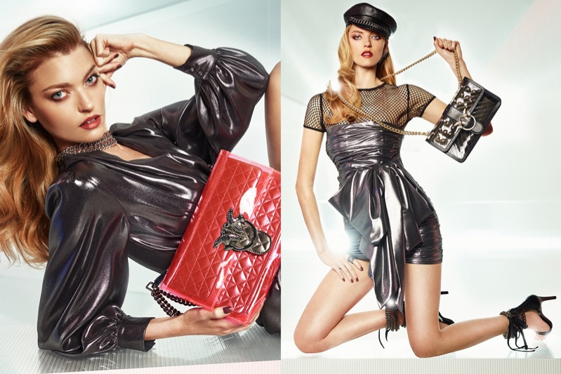 Pinko spotlights disco style for spring-summer 2019 campaign