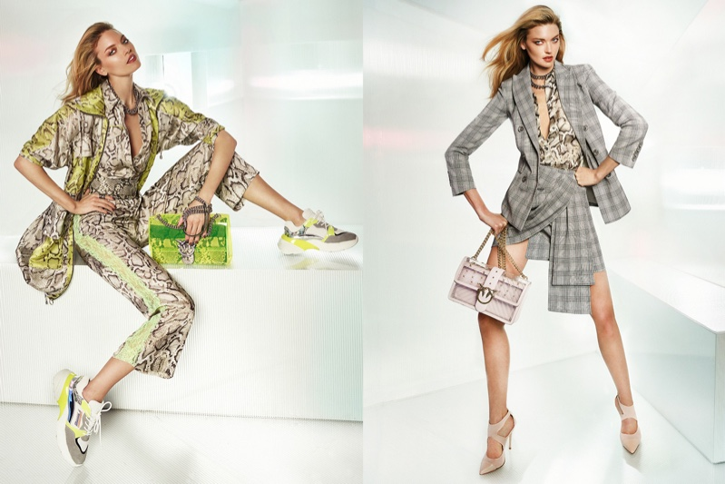 Martha Hunt fronts Pinko spring-summer 2019 campaign