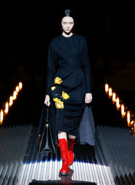 Prada Channels Wednesday Addams for Fall 2019
