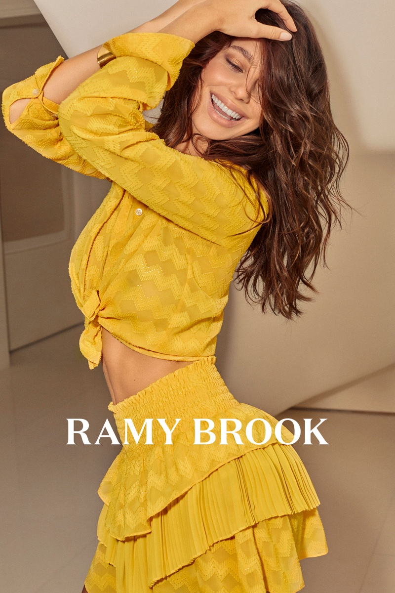 Camila Morrone stars in Ramy Brook spring-summer 2019 campaign