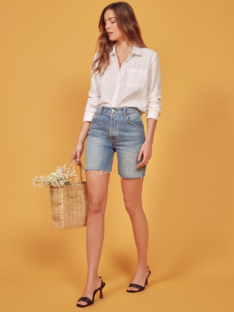 Reformation Allie Jean Short $88