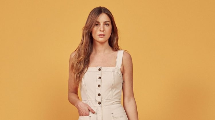 Reformation Amory Jumpsuit $178