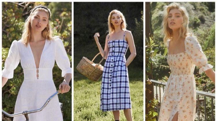 Reformation linen dresses