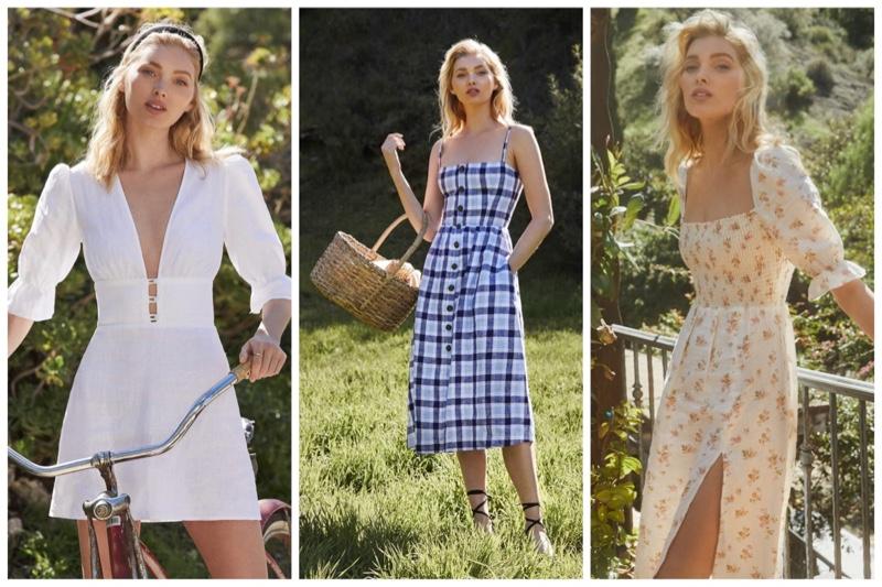Spring Breeze: See Reformation's Linen Designs