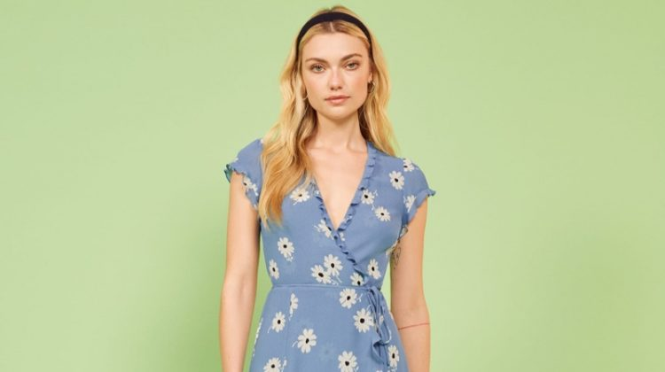 Reformation Sicilia Dress in Chelsea Girl $198