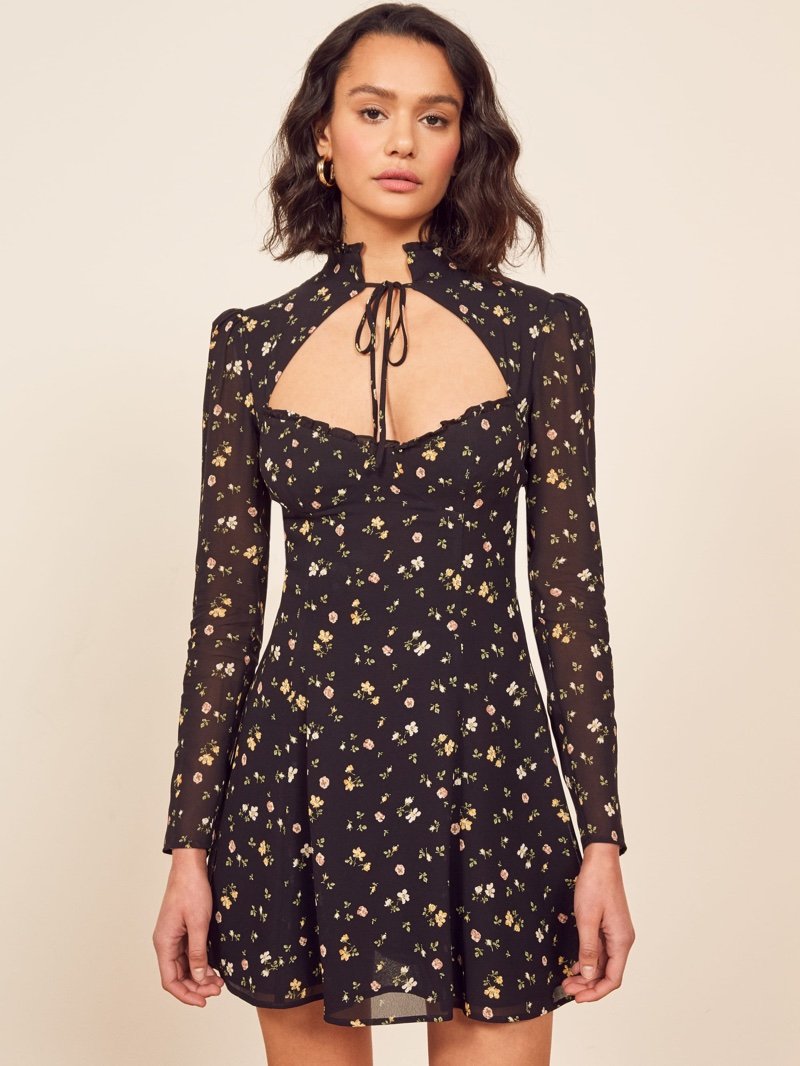 Reformation Vivianne Dress in Venezia $248