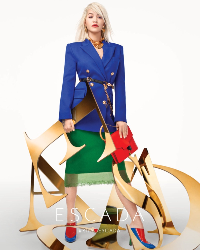 Escada features bold colors in spring-summer 2019 campaign