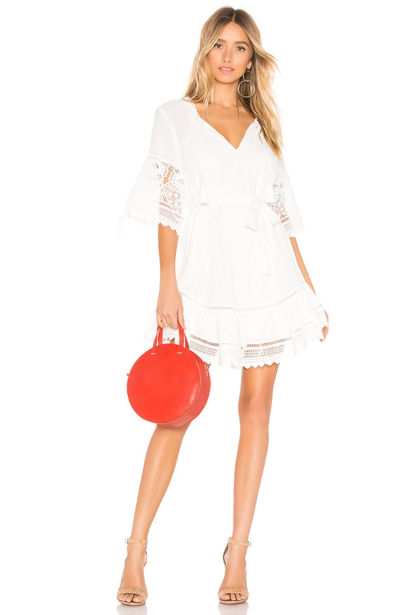 Spell & The Gypsy Collective Abigail Lace Mini Dress $233