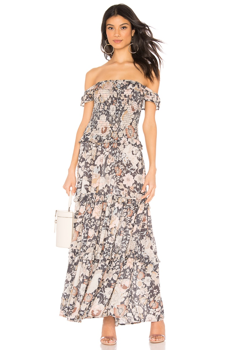 Spell & The Gypsy Collective Amethyst Shirred Sundress $217