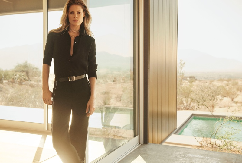 Doutzen Kroes is the face of St. John spring-summer 2019 campaign