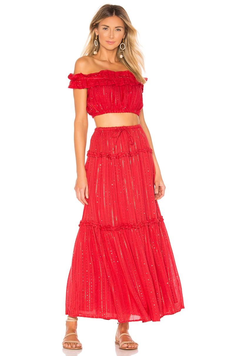 Sundress Noa Crop Top $81 and Skirt $169