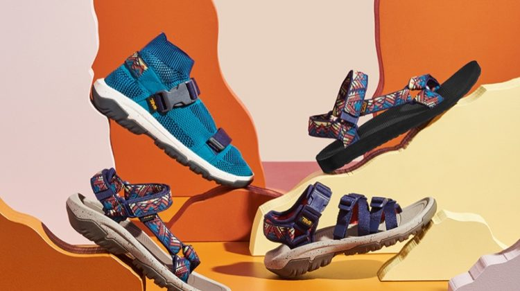 Walk On: See Teva's Grand Canyon Inspired Sandals