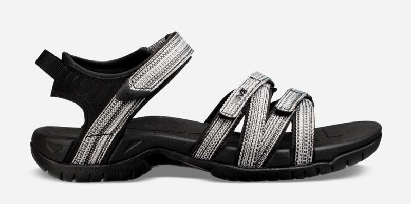 Teva Tirra Sandal in Black/White $80
