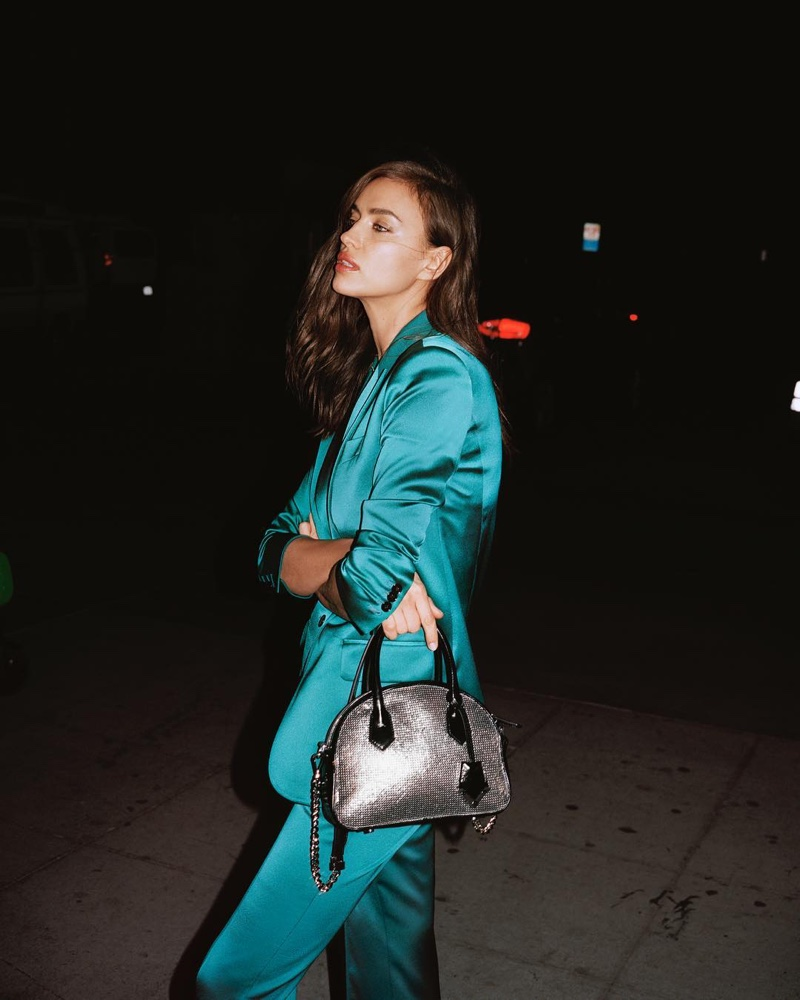 Irina Shayk fronts The Kooples spring-summer 2019 campaign