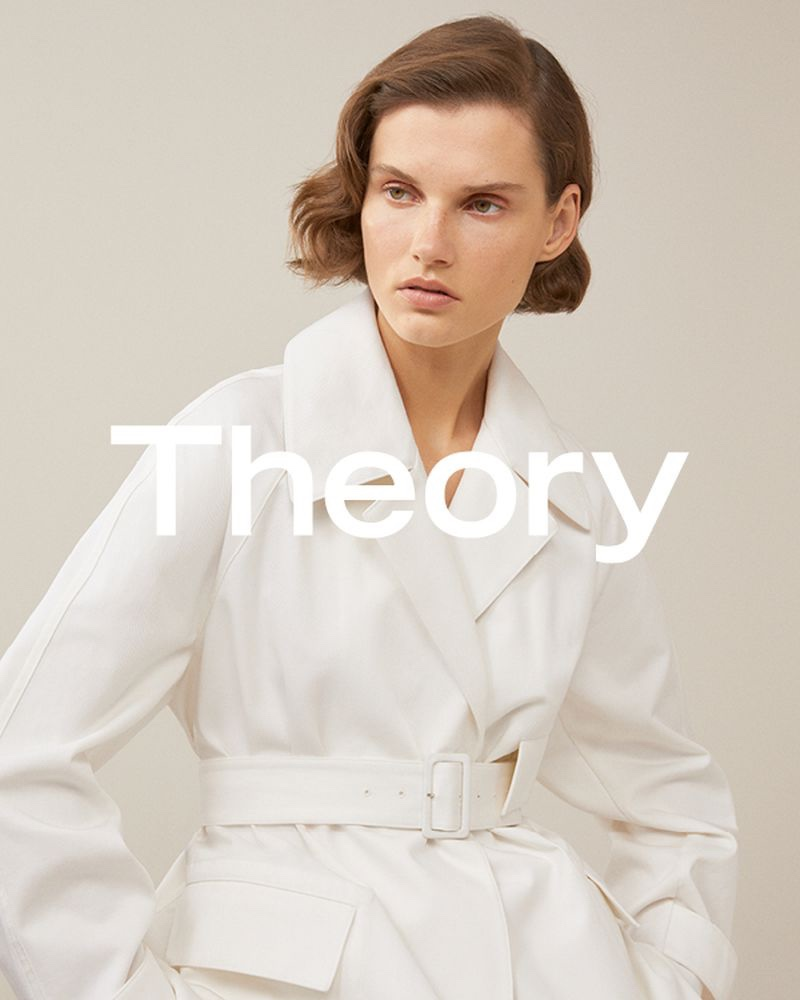 Giedre Dukauskaite stars in Theory spring-summer 2019 campaign