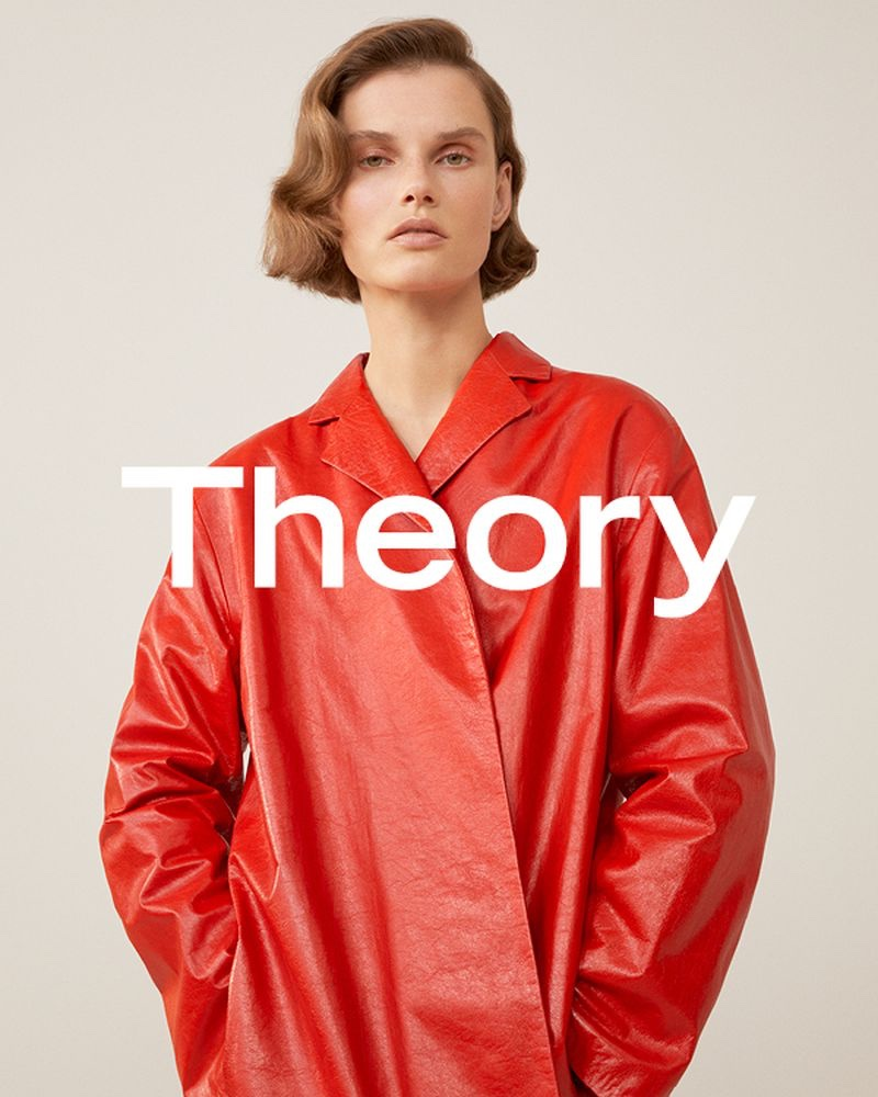 Theory spotlights outerwear for spring-summer 2019 campaign