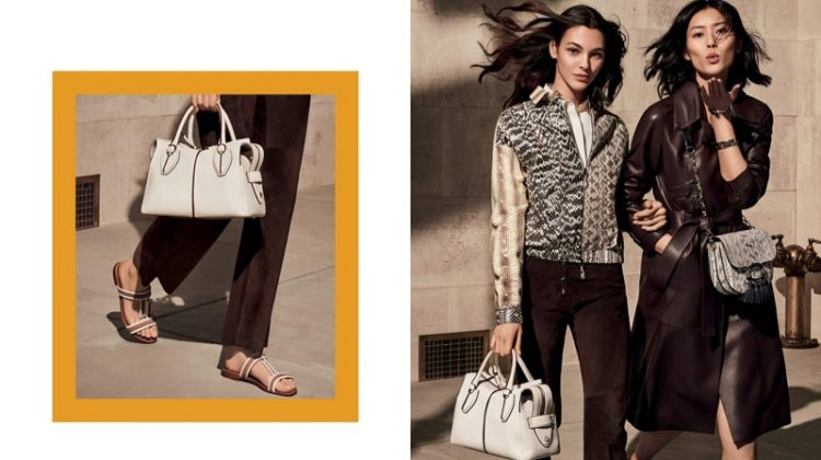 An image from the Tod's spring 2019 advertising campaign