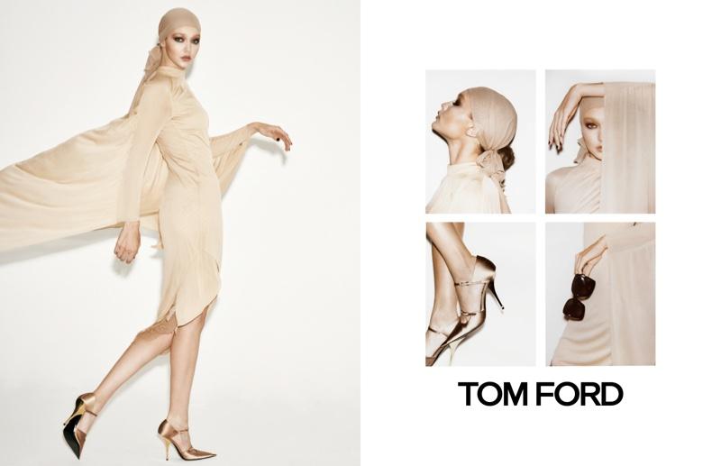Gigi Hadid stars in Tom Ford spring-summer 2019 campaign
