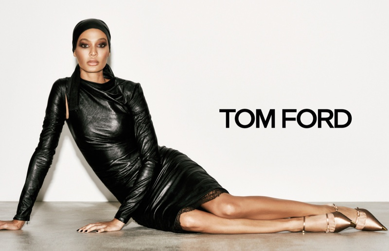 Joan Smalls stars in Tom Ford spring-summer 2019 campaign