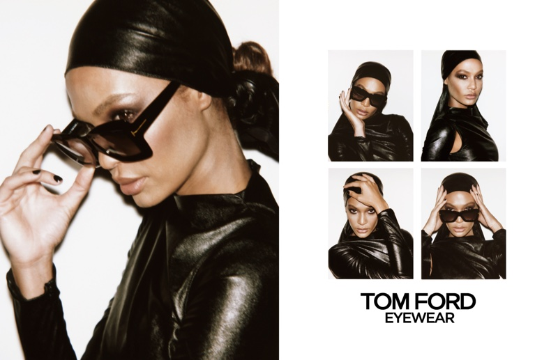 Tom Ford focuses on eyewear for spring-summer 2019 campaign