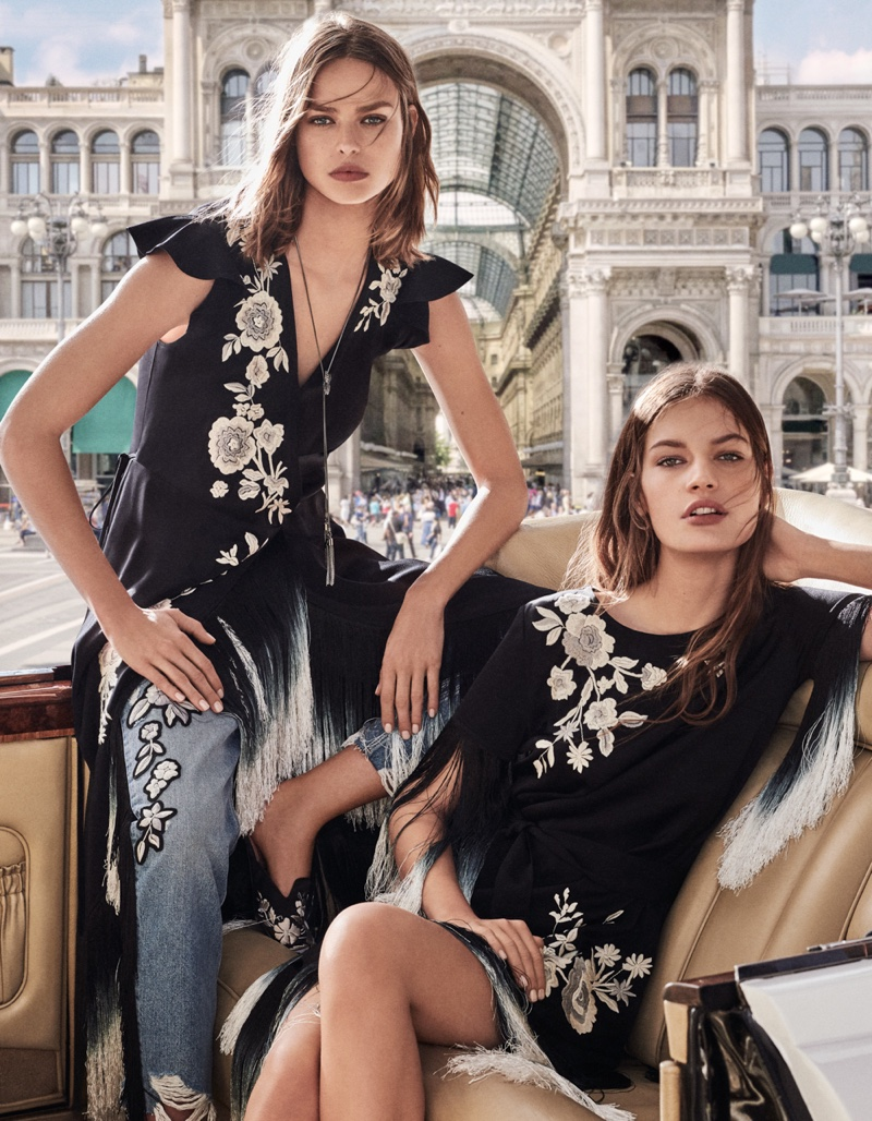 An image from the Twinset spring 2019 advertising campaign