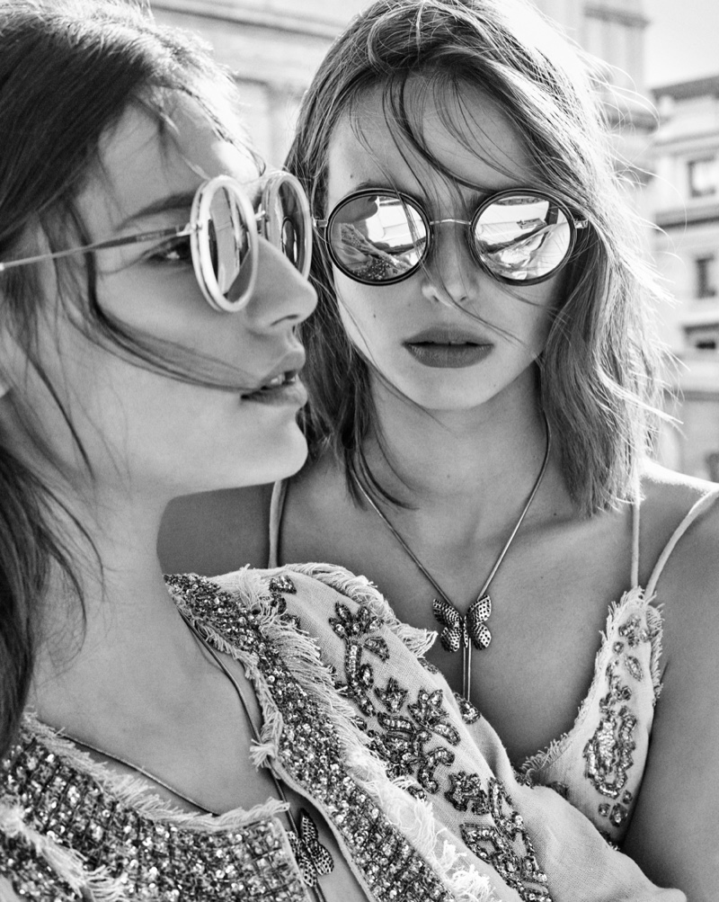 Sunglasses take focus for Twinset spring-summer 2019 campaign