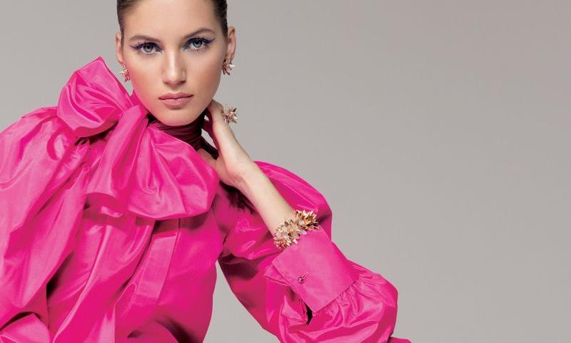 Valery Kaufman Wears Sophisticated Looks for Harper's Bazaar Serbia