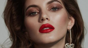 Valery Kaufman Wears Glamorous Beauty for Vogue Arabia