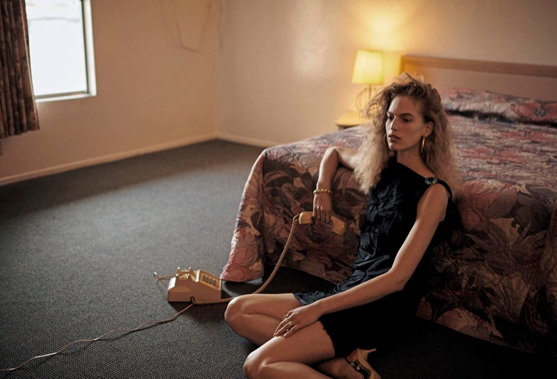 Vanessa Axente Takes a Stylish Road Trip for PORTER Magazine