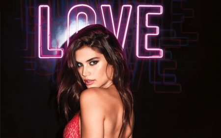 Victoria's Secret Models Heat Up Valentine's Day Campaign
